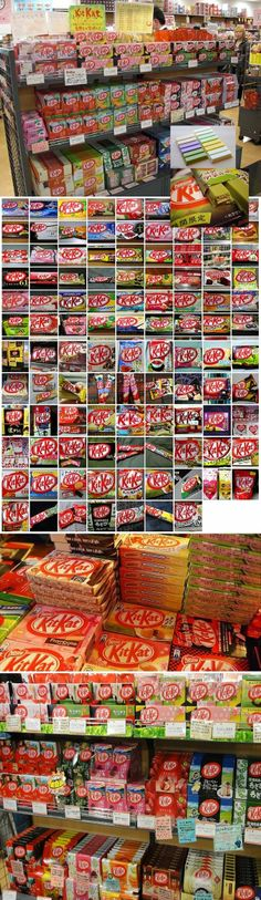 Meanwhile in Japan . . . They sure love KitKat!