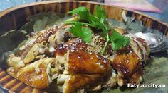 Steamed/Fried chicken in bamboo steamer Richmond Hill, Steamer, Chinese Food, Fried Chicken, Toronto, Bamboo, Tasty, Restaurant, Kitchen