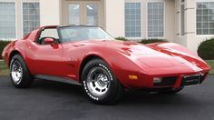 One Owner With Miles: 1977 Corvette 1977 Corvette, Old Corvette, Classic Corvette, Corvette For Sale, Chevrolet Corvette Stingray, Classic Chevrolet, General Motors, Little Red Corvette, Counting Cars