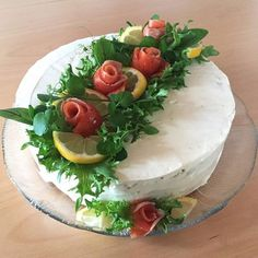 Savoury Cake, Cheesecakes, Camembert Cheese, Appetizers, Fruit, Ethnic Recipes, Inspiration, Mayonnaise Cake, Savory Foods