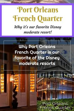 Everything we love about Port Orleans French Quarter an why we think it's the best of the Disney moderate resorts | Port Orleans Resort French Quarter | Disney World moderate resorts | Walt Disney World | Disney hotels #portorleans #portorleansfrenchquarter #waltdisneyworld #disneyhotels Things To Think About, Good Things, Disney Hotels, French Quarter, Walt Disney World, Resorts, Vacation Resorts, Vacation Places