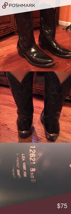 Men pull up cowboy boots Good exselence condition like new Shoes Cowboy & Western Boots