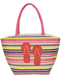 A perfect beach bag for your next vacation #beach #pink #beachbag. Get it @ www.earthenme.com