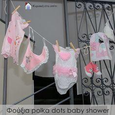 Κυριακή στο σπίτι: Φούξια polka dots baby shower [Project 136]