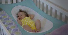 Crescent Womb - the baby bed that mimics the womb #Baby, #Bassinets, #Kickstarter, #Newborn