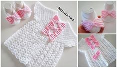 Babyjacke und Booties mit Schleife Baby jacket and booties with bow Baby Converse Booties FreBootiful baby girl toddleCrochet Baby Girl PumpkinDiscover thousands of images about Best Beautiful Easy Knitting Patterns - Knittting Crochet - Knittting Cr Baby Knitting Patterns, Baby Girl Patterns, Crochet Patterns, Baby Girl Crochet, Crochet Baby Clothes, Vestidos Bebe Crochet, Crochet Dresses, Easy Knitting, Knitting Beginners
