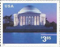 [Jefferson Memorial Priority Mail - Self-Adhesive, type EED]