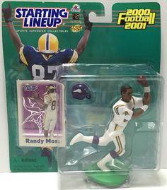 (TAS035065) - 2000 Hasbro Starting Lineup Figure - Football - Randy Moss