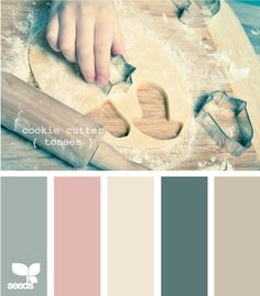 cookie cutter tones. Great for a bedroom