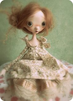 """Leanne""  Custom Order Ooak Art Dododoll no9 Reserved For by dododolls, €100.00"