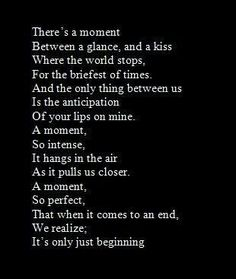 Find images and videos about love, quotes and kiss on We Heart It - the app to get lost in what you love. Cute Love Quotes, Soulmate Love Quotes, Awesome Quotes, Poem Quotes, Quotes For Him, Life Quotes, Husband Quotes, Falling For You Quotes, Crush Quotes