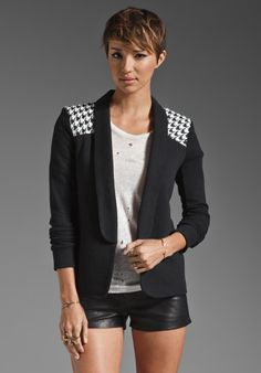 PENCEY STANDARD Warrior Blazer in Black
