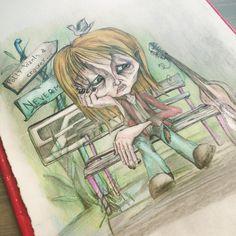 """Mi piace"": 30, commenti: 4 - Silvestri Anastasia (@anast_silvestri) su Instagram: ""#polly #cracker #illustration #illustration #illustrationart #kurtcobain #nirvana #grunge #art…"""