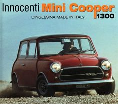 Innocenti Mini Mini Cooper Classic, Classic Mini, Classic Cars, Classic Auto, Austin Cars, Car Brochure, Retro Ads, Car Advertising, Commercial Vehicle