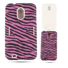Unlimited Cellular Hybrid Fit On Jelly Case for Samsung Galaxy Epic (Magenta Zebra on Black) Galaxy S2, Samsung Galaxy, Jelly Case, Magenta, Phone Cases, Fit, Black, Shape, Black People