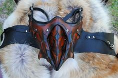 Dragon Slayer's Lower Half Mask by EpicLeather on Etsy, $199.99