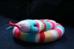 Knit your own Streptococcus Chain pdf knitting by ButterflyLove1