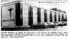 https://flic.kr/p/Cy7DUN | Medical Arts Building-1322 E. Michigan Ave.-to be completed-1963-10-25-Lansing, MI