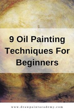 9 Oil Painting Techniques For Beginners 9 Oil Painting Techniques For Beginners HEIDI MAROHN h marohn Malerei 9 Oil Painting Techniques For Beginners If you want to nbsp hellip Painting lessons Oil Painting Lessons, Oil Painting For Beginners, Oil Painting Techniques, Beginner Painting, Painting Tutorials, Painting Videos, Painting With Oils, Learn Painting, Oil Painting Pictures