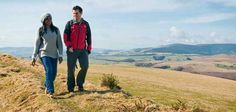 Walkers on The Heart of Wales Line Trail