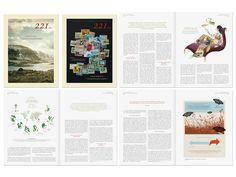 Simon & Goetz Design for Sal. Oppenheim Brochure
