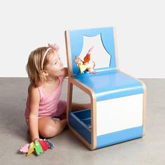 Puppet Theater Chair from Menut Kids Design Collection called The Forest At Home