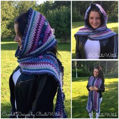 Romantic shawl made by BautaWitch. Free pattern (translation button available) at BautaWitch. Crochet Afghans, Crochet Heart Blanket, Crochet Bedspread Pattern, Crochet Squares, Crochet Blanket Patterns, Knit Or Crochet, Crochet Baby Costumes, Crochet Dog Clothes, Crochet Baby Boots