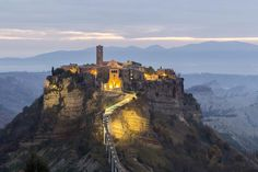 Civita di Bagnoregio, Italy - like something from a fairy tale