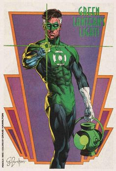 Green Lantern Hal Jordan by Craig Hamilton
