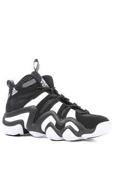 Adidas Sneaker Crazy 8 in Black & White