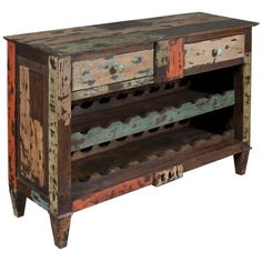 Coast to Coast Two Drawer Wine Server