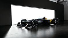 Renault leva conceito de Fórmula 1 do futuro a Xangai - Jornal do Carro - Estadão