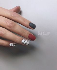 My work nail designs