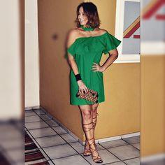 Meu look @vanguardastore para o nível de uma amiga querida! #estiloandreafialho #vanguardastore #andreafialho
