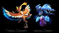 Fire and ice fusions