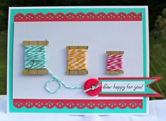 Perfect sewing card.