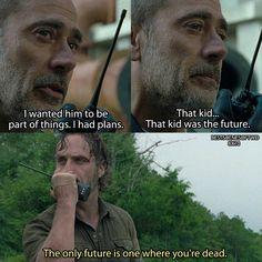 The Walking Dead - Season 8 Episode 10 - Rick and Negan