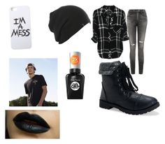 """""""Untitled #6"""" by munao on Polyvore featuring Citizens of Humanity, Aéropostale, LAUREN MOSHI and Sally Hansen"""
