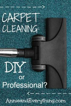 Have you ever had professional carpet cleaning? Read my experience having it done for the first time and whether I think it's worth the money.
