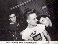 Nigel, Woodie and Paul in The Meteors