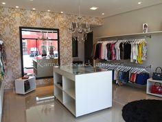 Boutique Interior, Fashion Shop Interior, Clothing Store Interior, Clothing Store Design, Boutique Decor, Boutique Design, Small Boutique Ideas, Sewing Room Design, Bedroom Closet Design