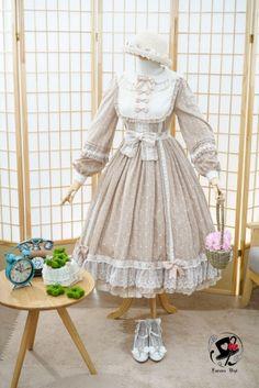 Fantastic Wind -Milky Way Star Chips- Sweet Classic Lolita OP Dress