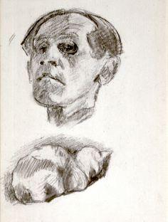 Bruno Schulz (1892–1942), Self-Portrait, 1933