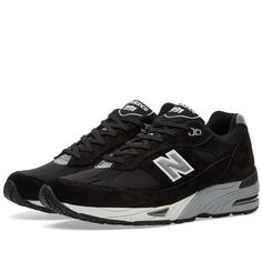 New Balance M991EKS - Made in England (Black & Silver)
