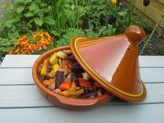 Aardappel groente tajine wortels paprika sperziebonen abrikozen