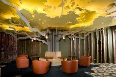 Google Office/Break Room in Moscow, Russia