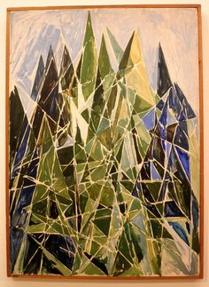 Composition in Blue and Green, 1949, Else Alfelt, Statens Museum for Kunst, Copenhagen