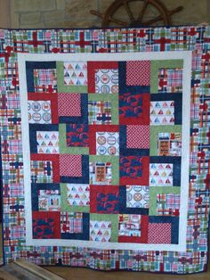 My favorite quilt. Made by Paula, the sassy quilter.