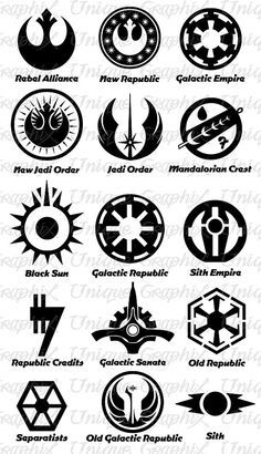 star wars symbols and their meanings - Google Search