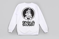 Gasius x Stüssy pizza capsule collection.  http://www.thedailystreet.co.uk/2014/09/gasius-x-stussy-pizza-capsule-collection/